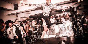 afro tribal dance - salto con fuoco