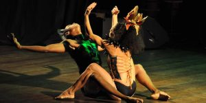 afro tribal dance - in coppia