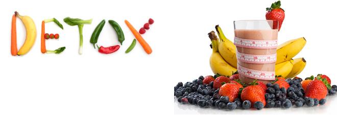 Detox - dieta vegana